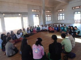 Training inside Burma on violence against women